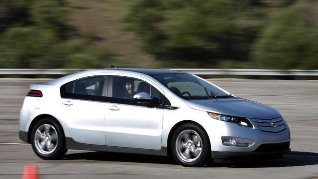 Chevy Volt To Get 230 Miles Per Gallon