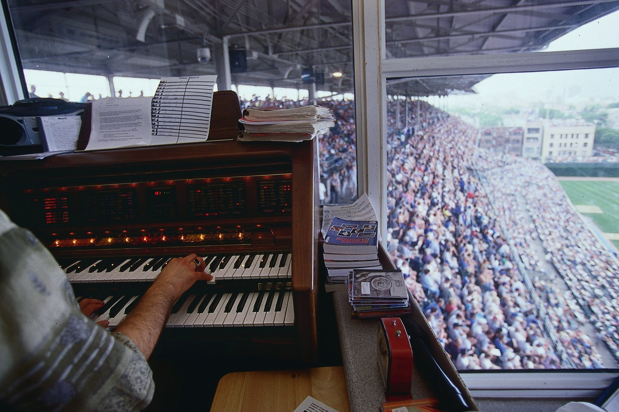 April 26 1941 Cubs Are First MLB Team To Have Organ