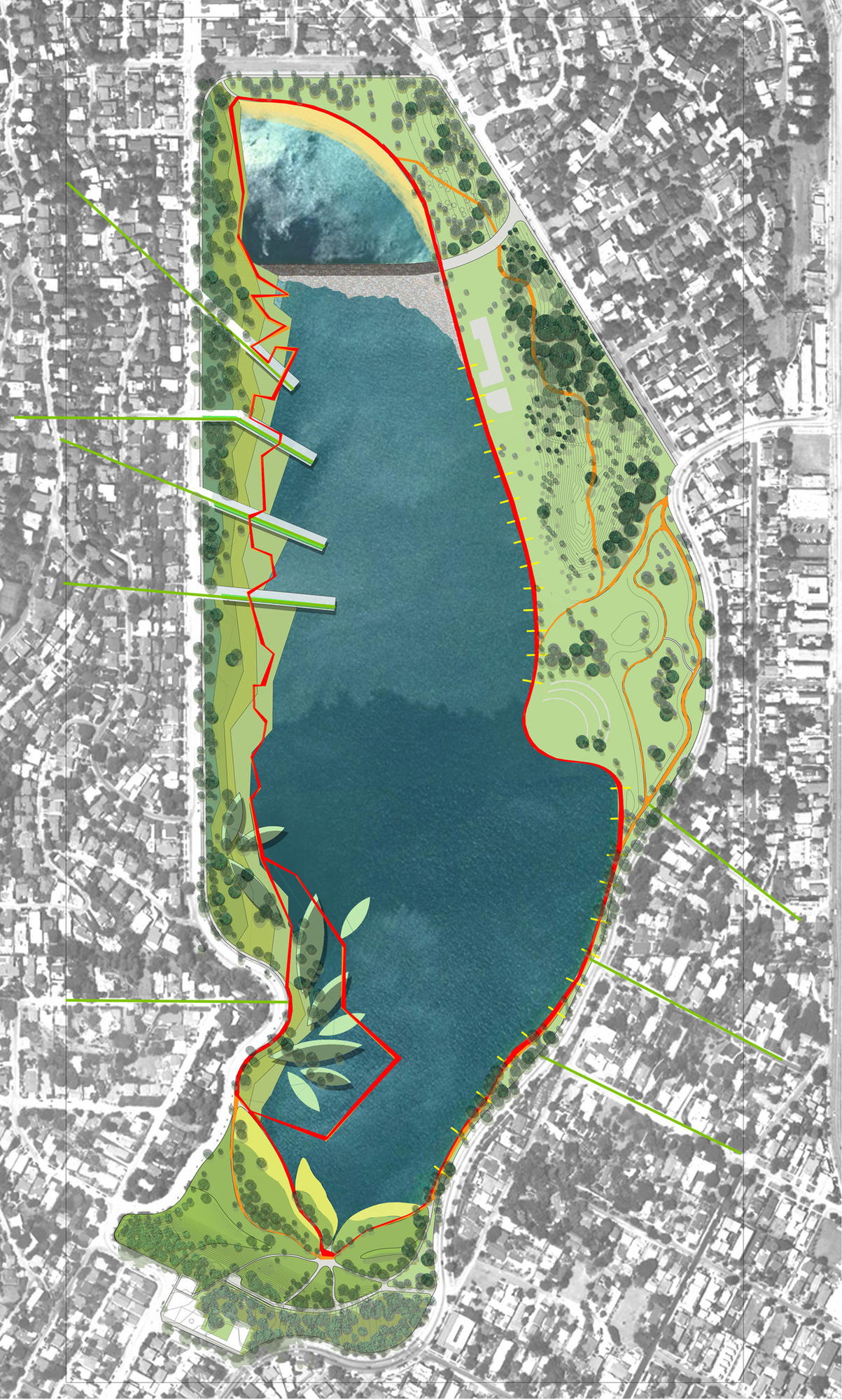 Silverlake Los Angeles Map.What Do We Do With The Silver Lake Reservoirs Los Angeles Times