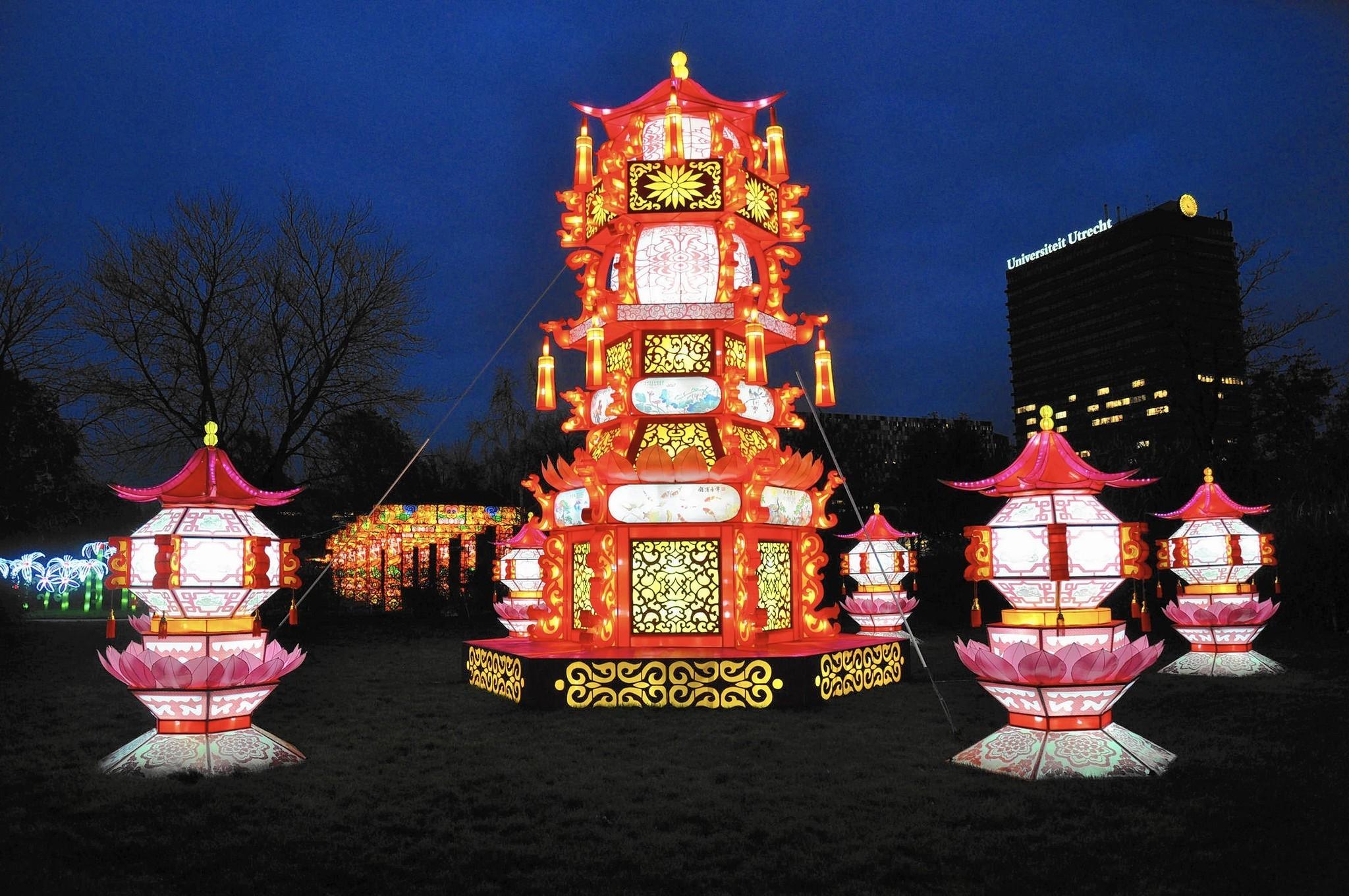 Philadelphia Chinese Lantern Festival: Light, color ...