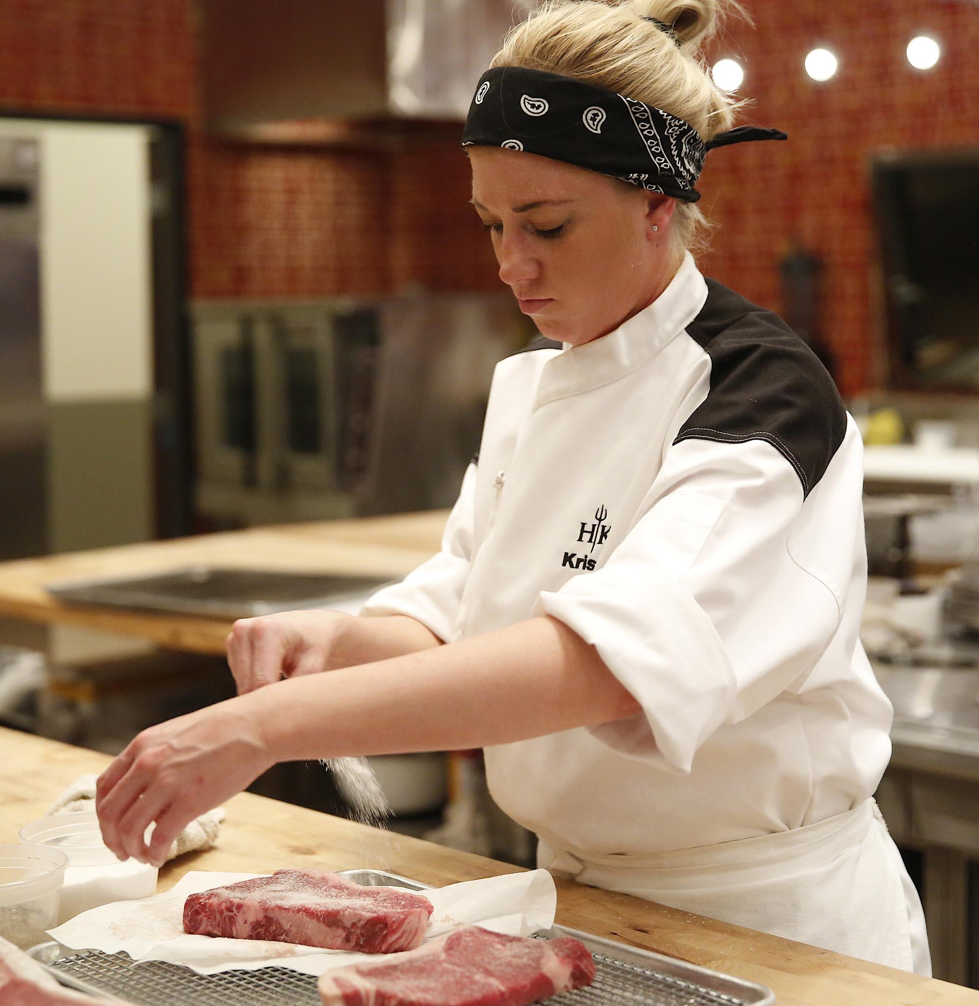 Kristen Season  Hells Kitchen
