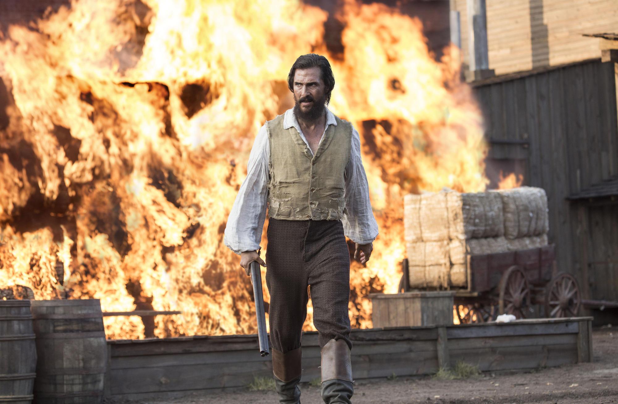 Matthew McConaughey in 'Free State of Jones.'