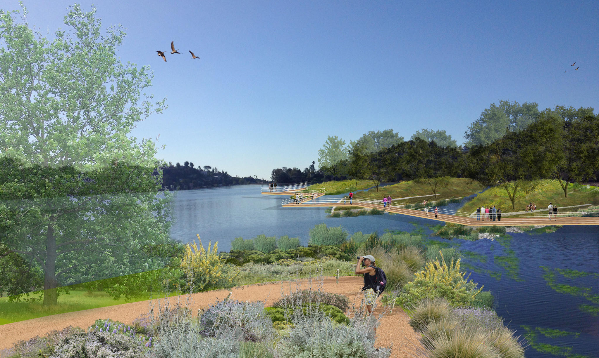 What Do We Do With The Silver Lake Reservoirs La Times