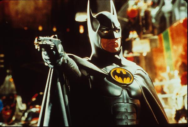 Michael Keaton as Batman. (Warner Bros.)