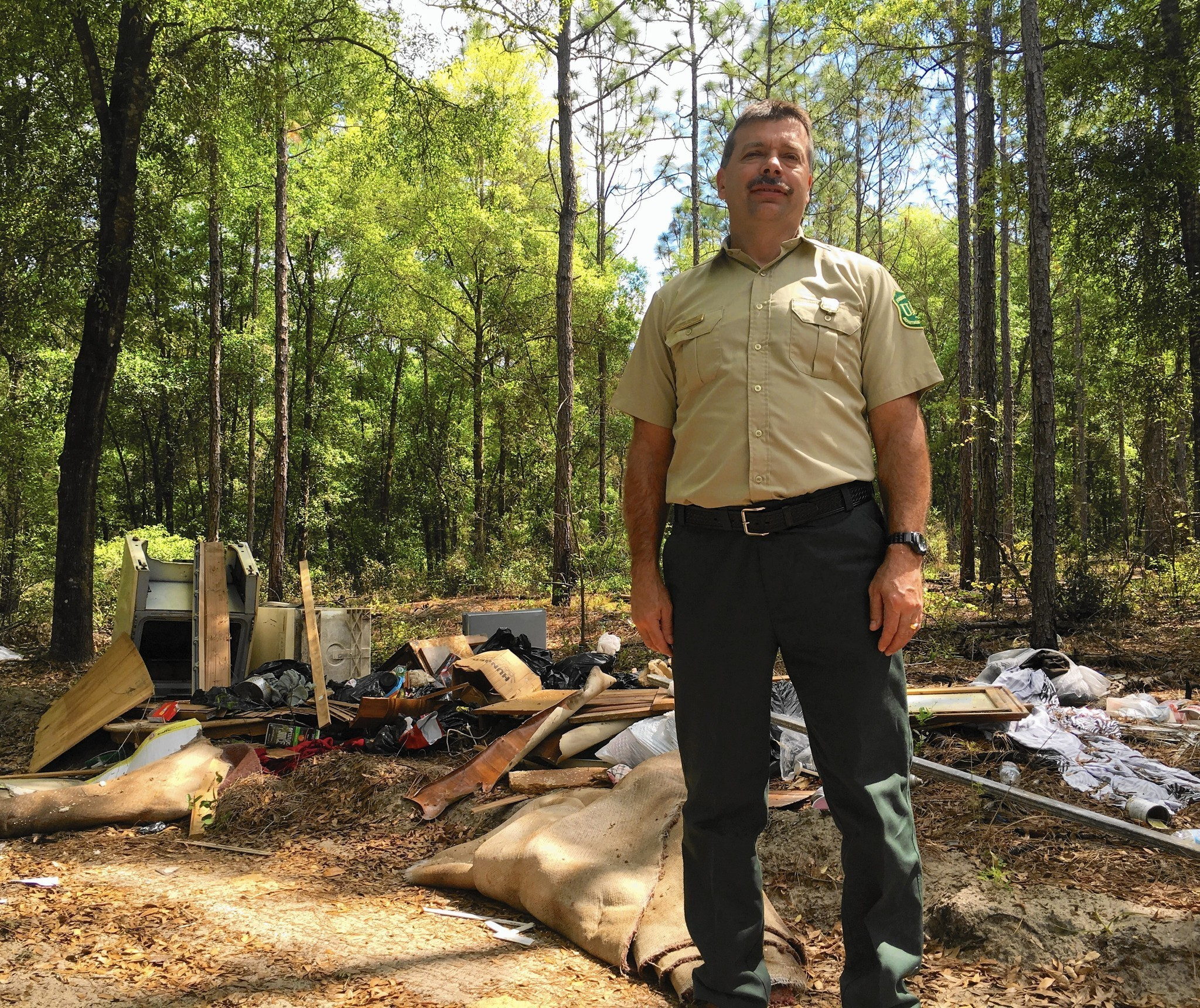 Ocala National Forest Officials Miffed As Trash Piles Up