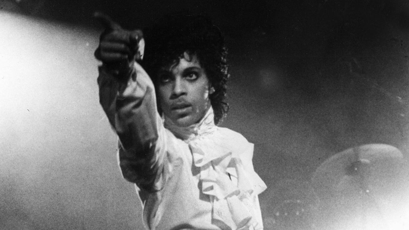"Prince in the movie ""Purple Rain."" (Handout)"
