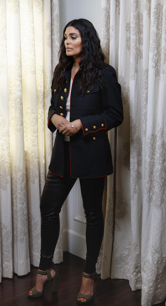 Rachel Roy photographed at home in March 2016.