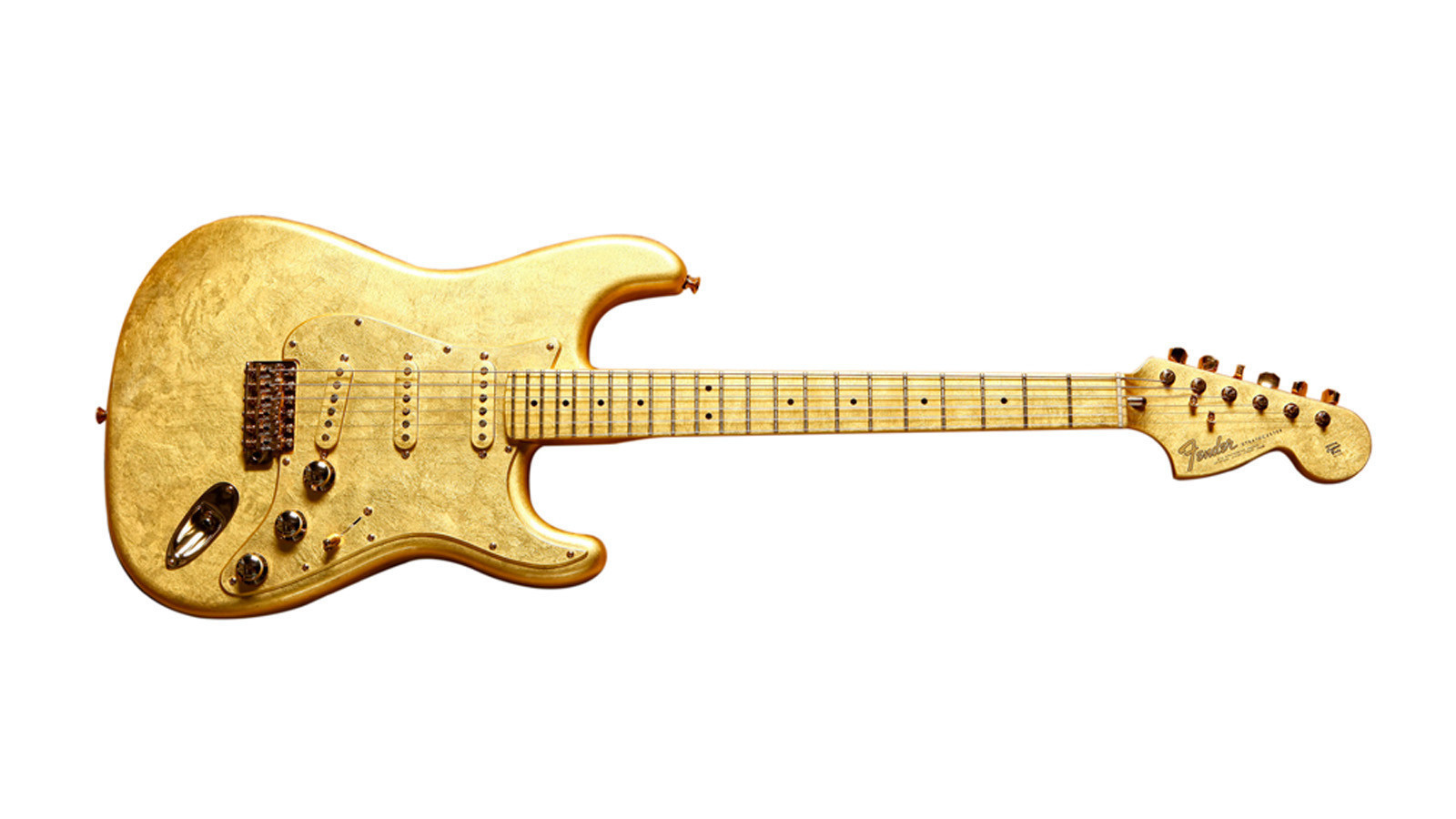 how prince 39 s gold plated one of a kind fender stratocaster came to be la times. Black Bedroom Furniture Sets. Home Design Ideas