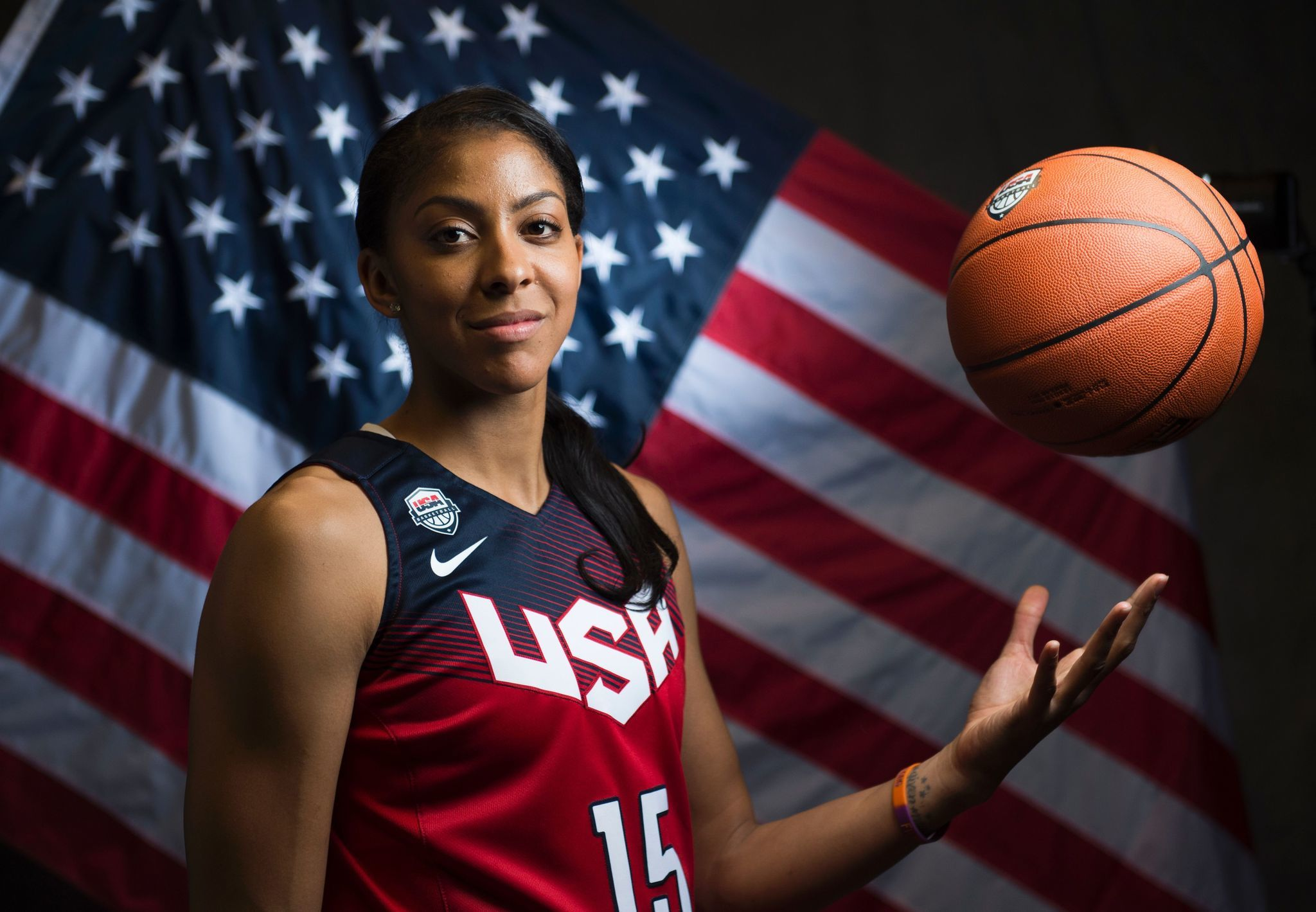 Two Time Olympic Gold Medalist Candace Parker Left Off Rio