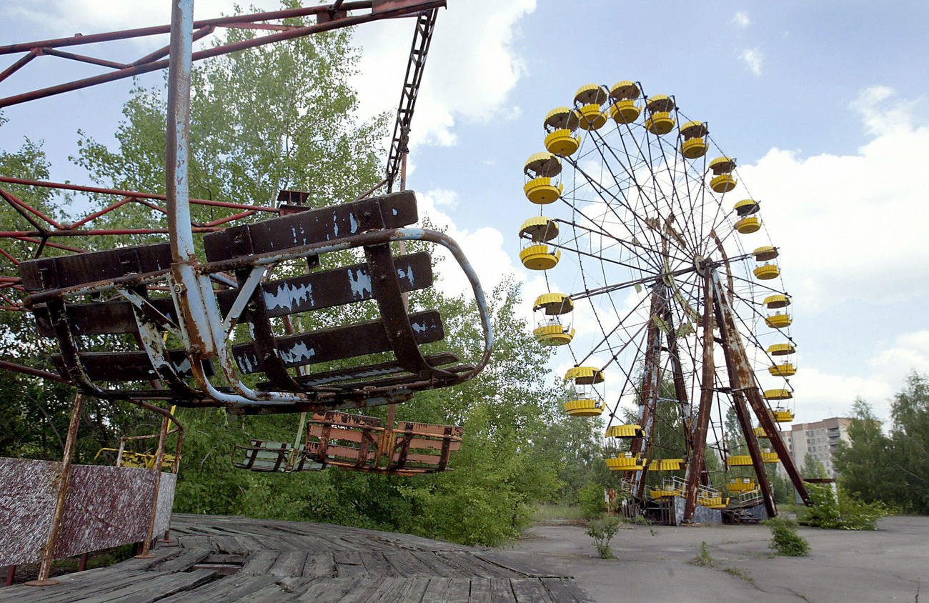 Look Back   Chernobyl, 30 years after nuclear power plant