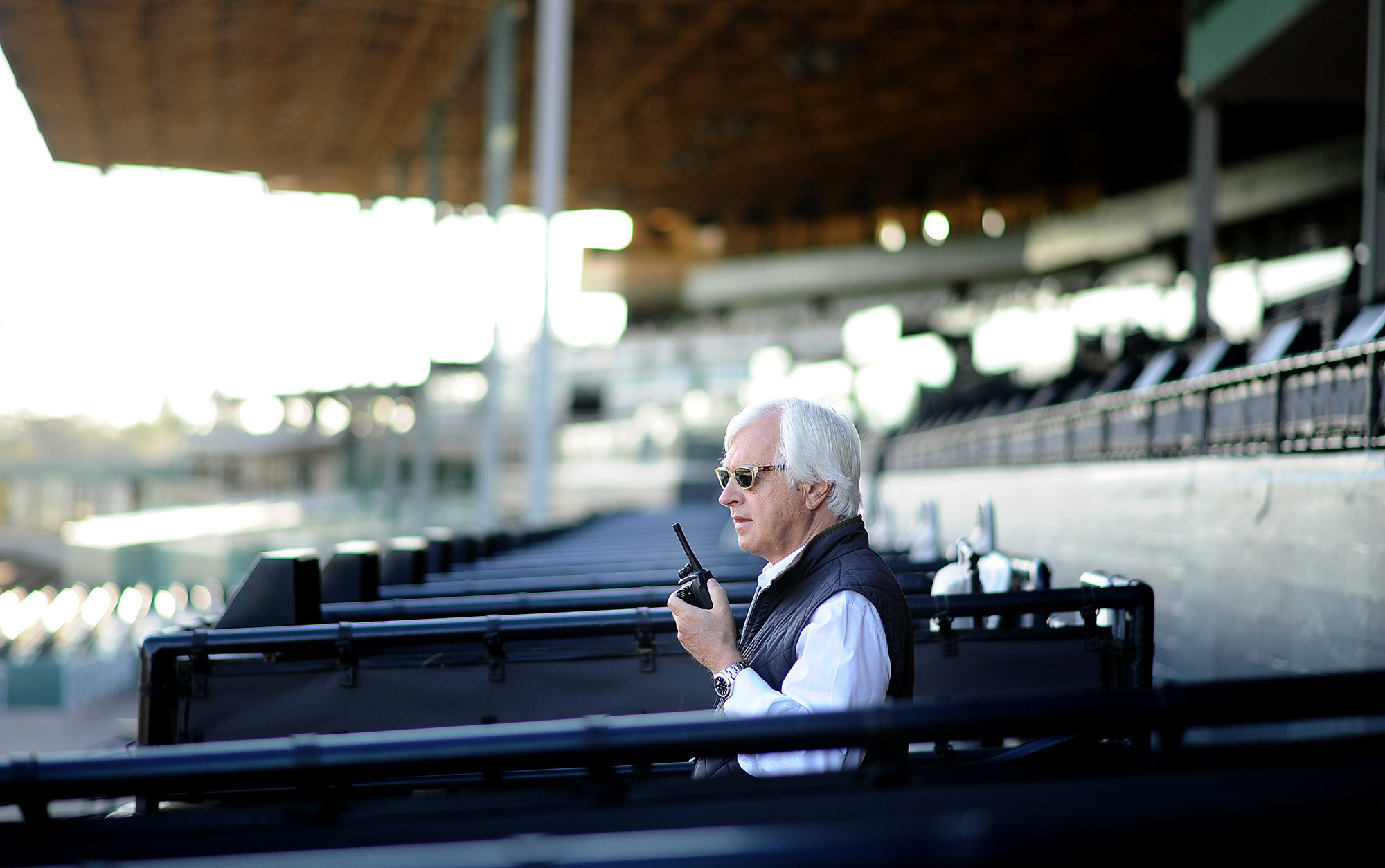 Bob Baffert And Jockey Martin Garcia Have A Falling Out Just Before The Kentucky Derby