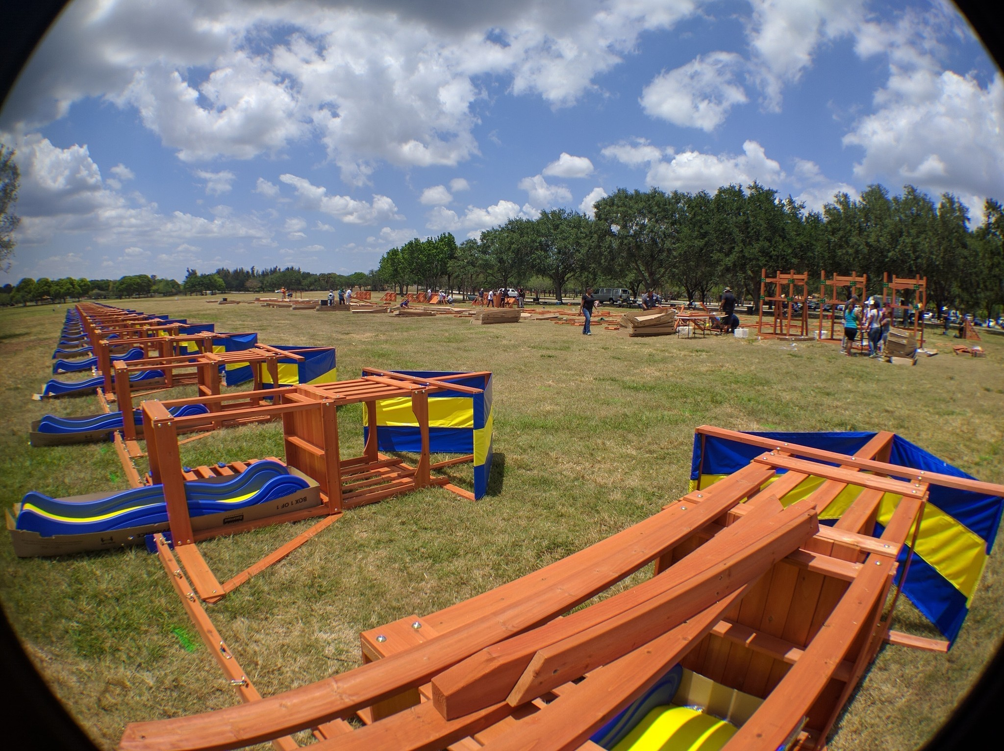 Giant Swing Set At Markham Park Aims To Set World Record Sun Sentinel