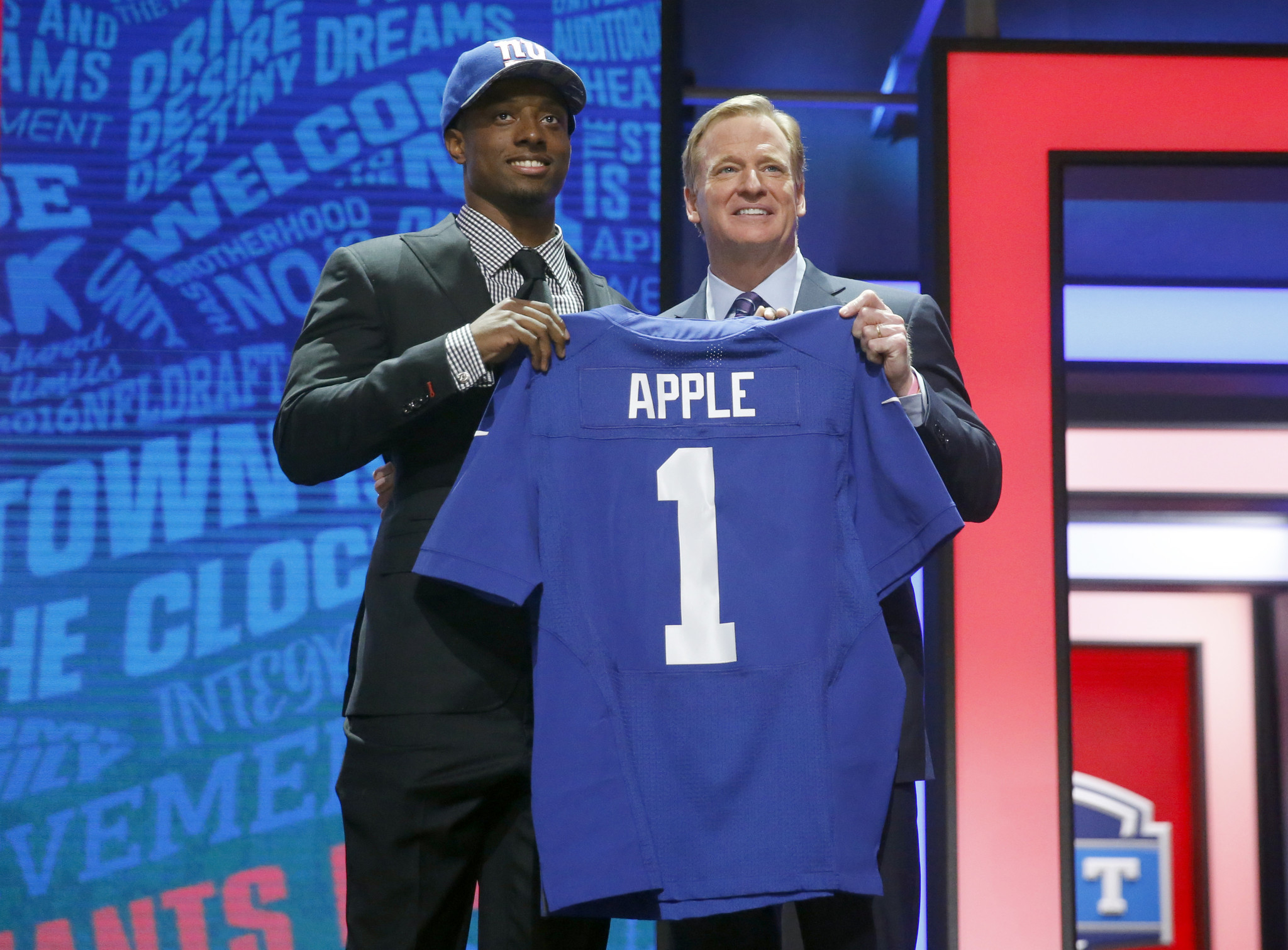 Giants Draft Ohio State s Apple With 10th Overall Pick - Hartford Courant 489fe6bc5
