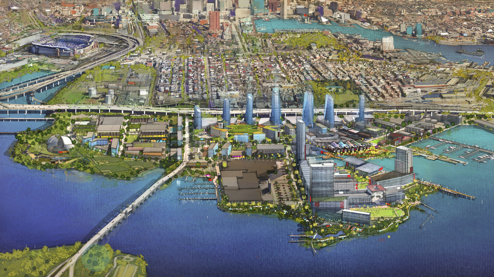 Online Building Design 17 Things To Know About The Port Covington Tif Baltimore