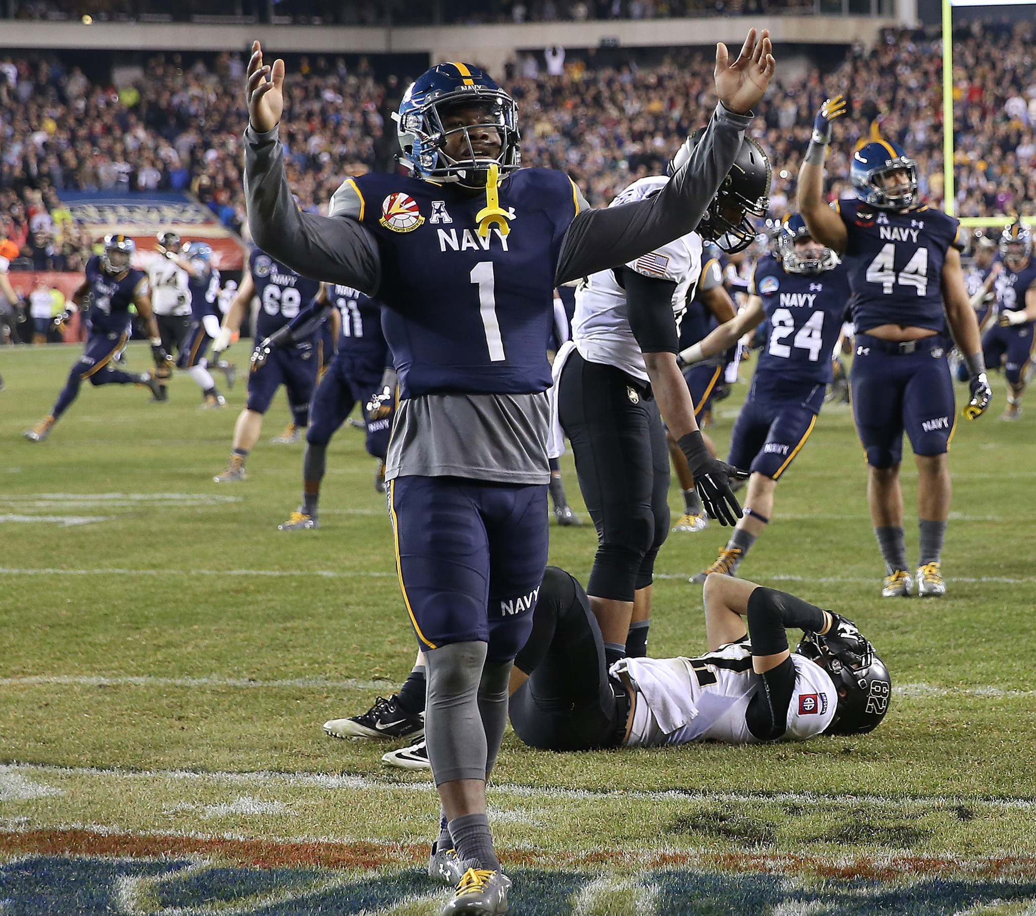 Cornerback Brendon Clements Reinstated To Navy Football Team