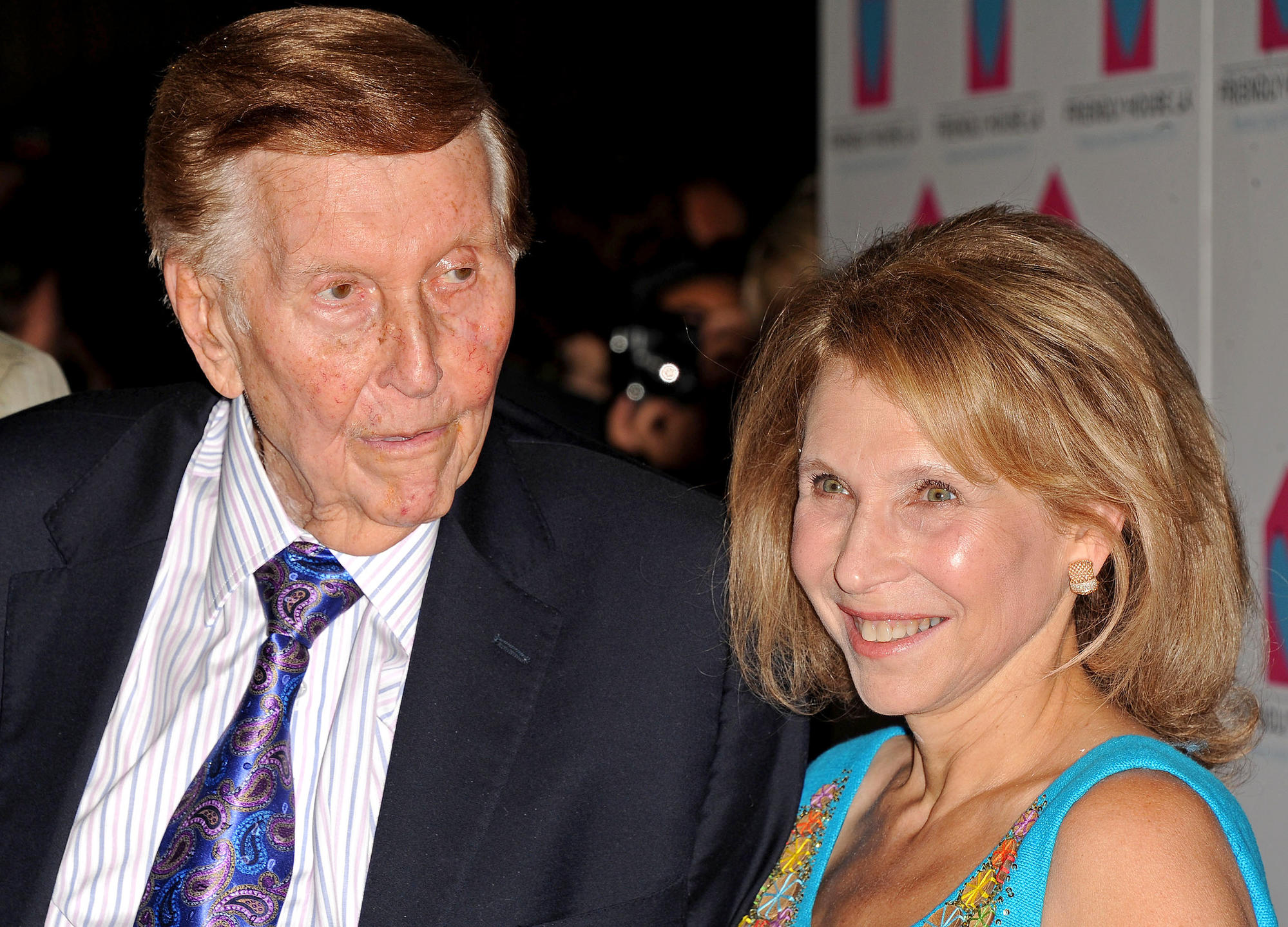 Sumner and Shari Redstone in 2012.