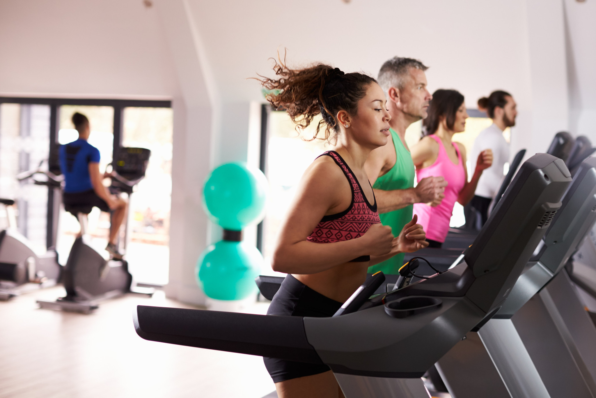Gyms bet on equipment that can help keep itself healthy ...