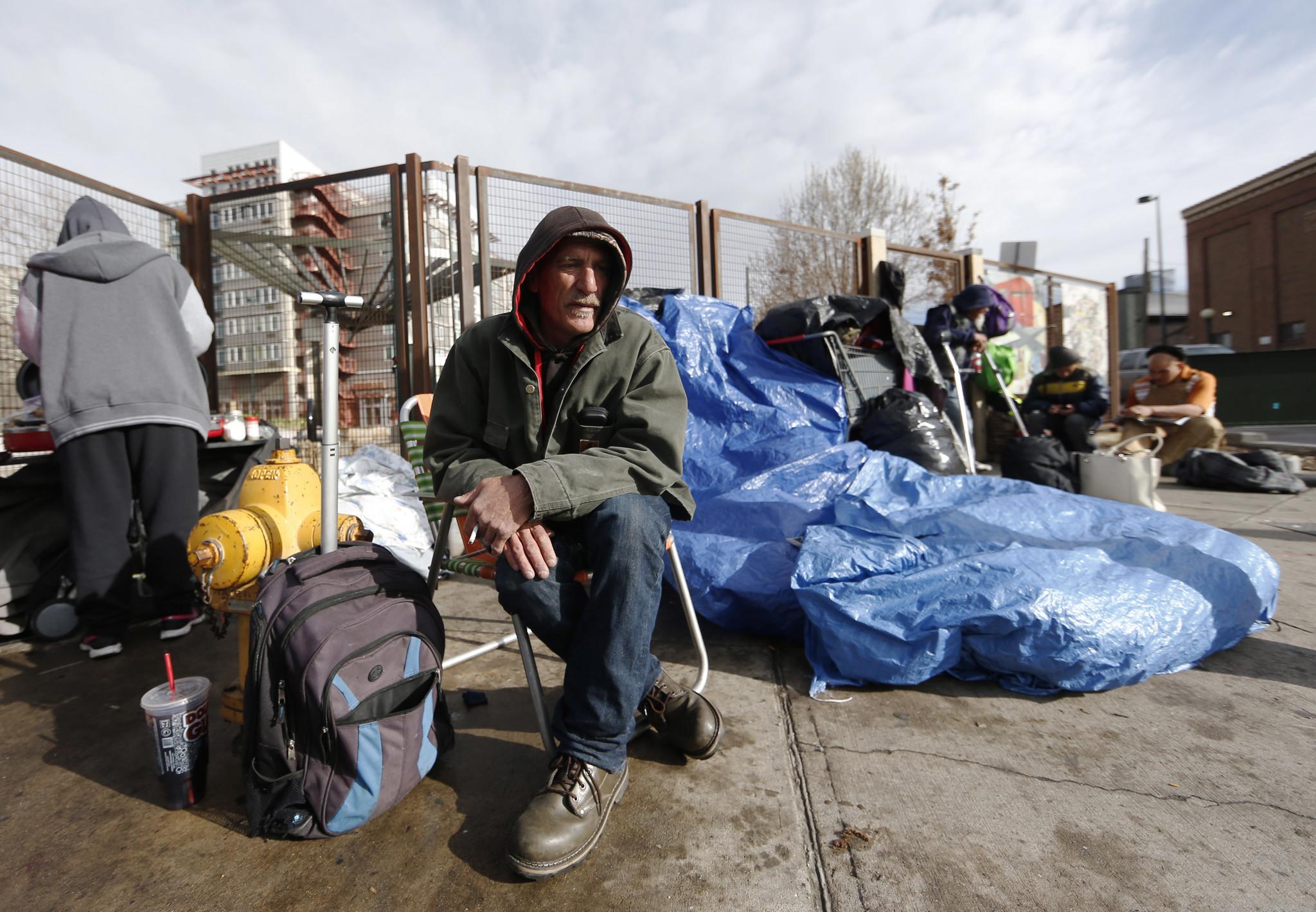 As Denver Enjoys Boom Times The Homeless Go Into Hiding