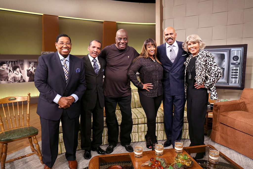 'Good Times' cast visits Steve Harvey - Orlando Sentinel