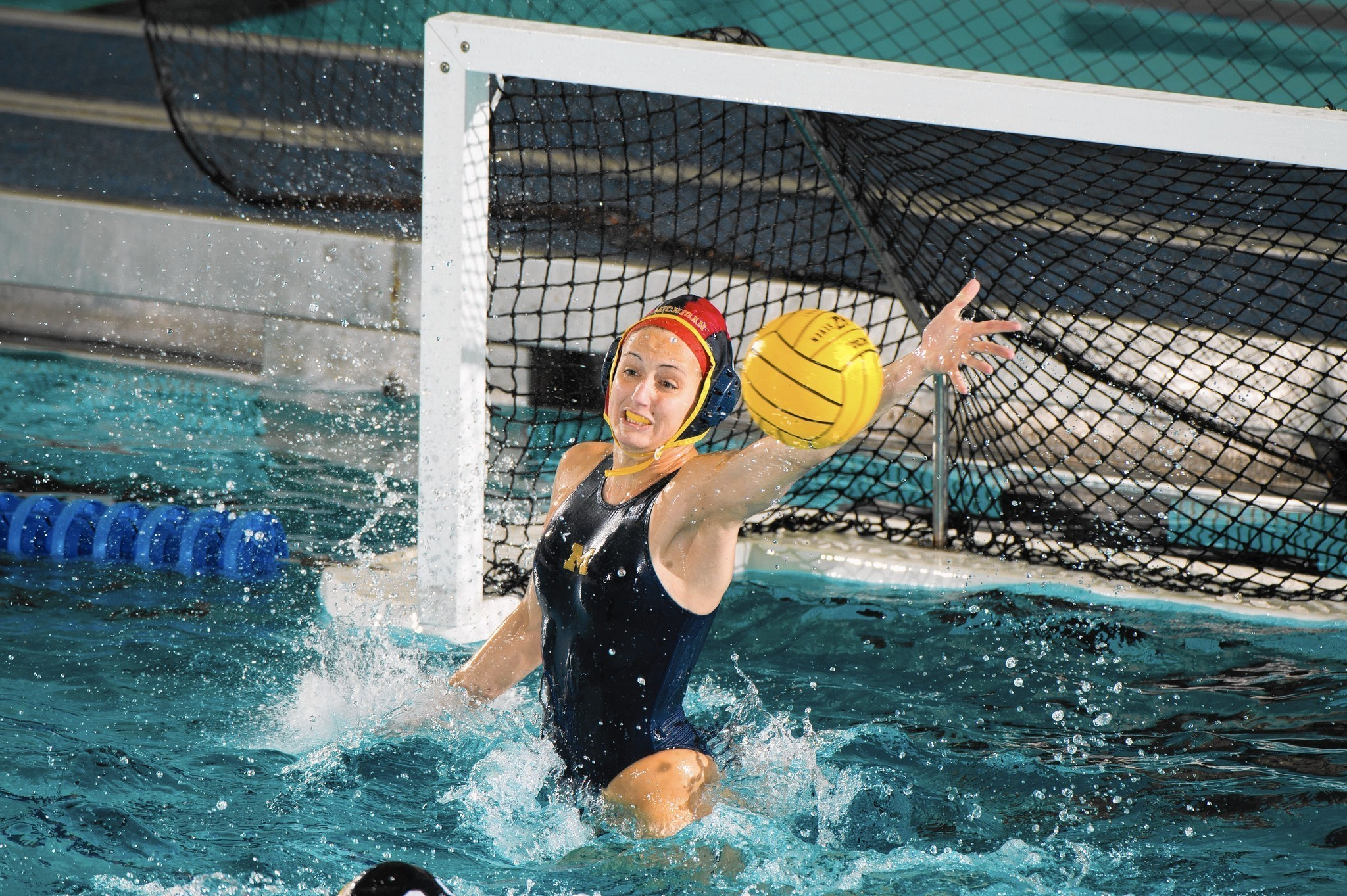 Water Board Sports >> Naperville Central grad Julia Campbell leads Michigan to ...