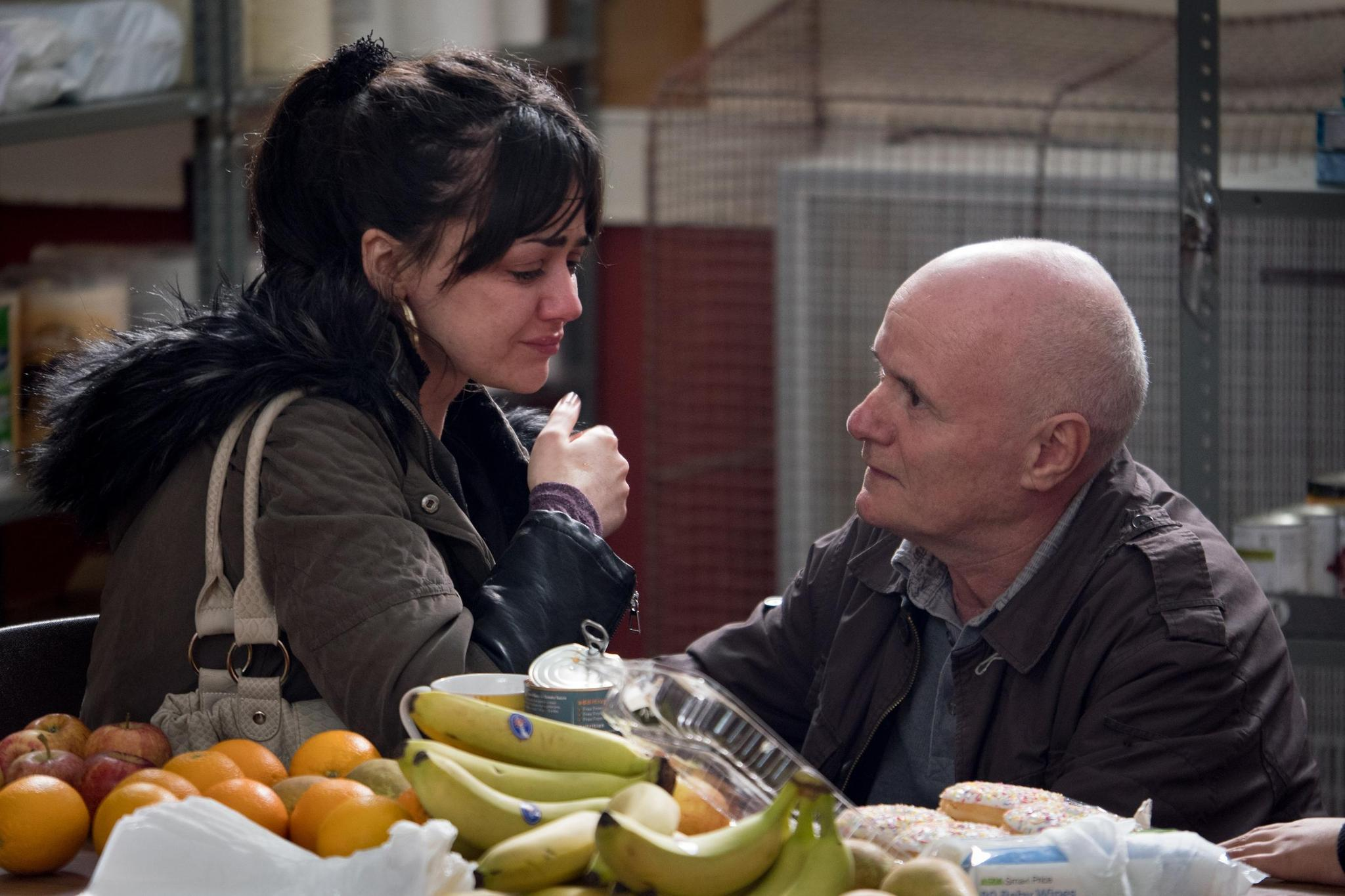 "Hayley Squires and Dave Johns in ""I, Daniel Blake."" (Joss Barratt)"