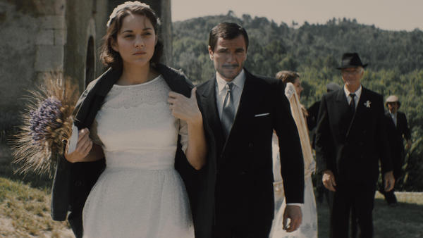"Marion Cotillard and Alex Brendemühl in ""From the Land of the Moon."" (Studiocanal)"