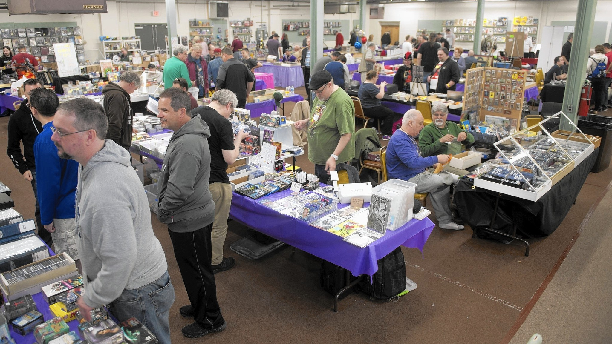 Annual Card Show In Allentown Draws Collectors And The