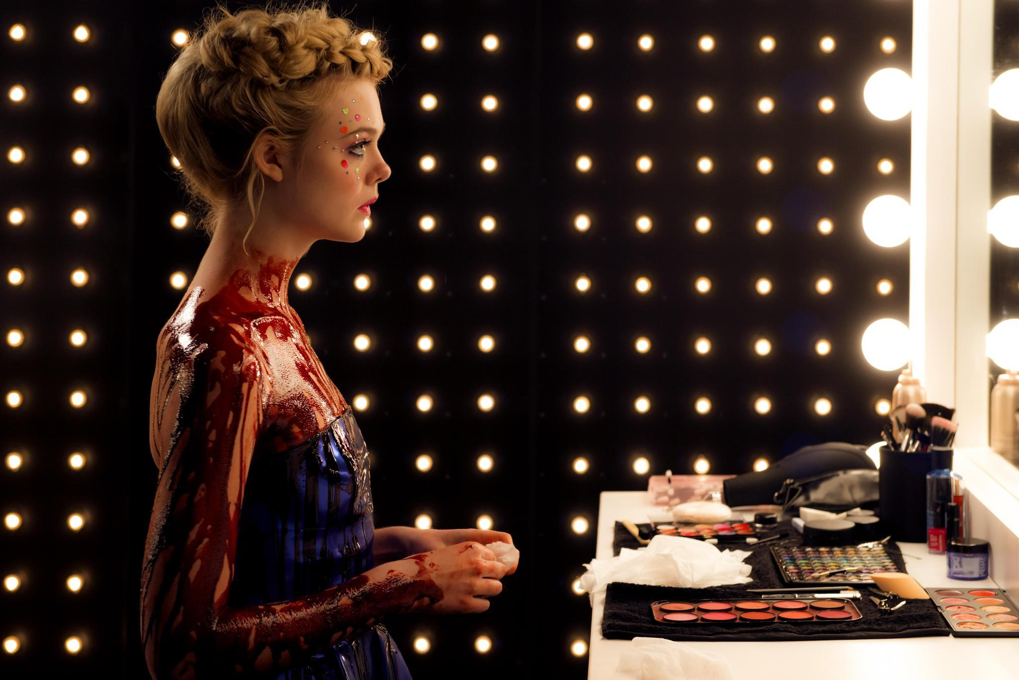 "Elle Fanning in ""The Neon Demon."" (Gunther Campine)"