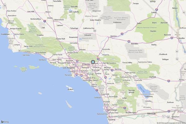 Earthquake 3 5 Quake Strikes Near San Antonio Heights