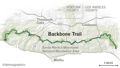 Backbone Trail maps
