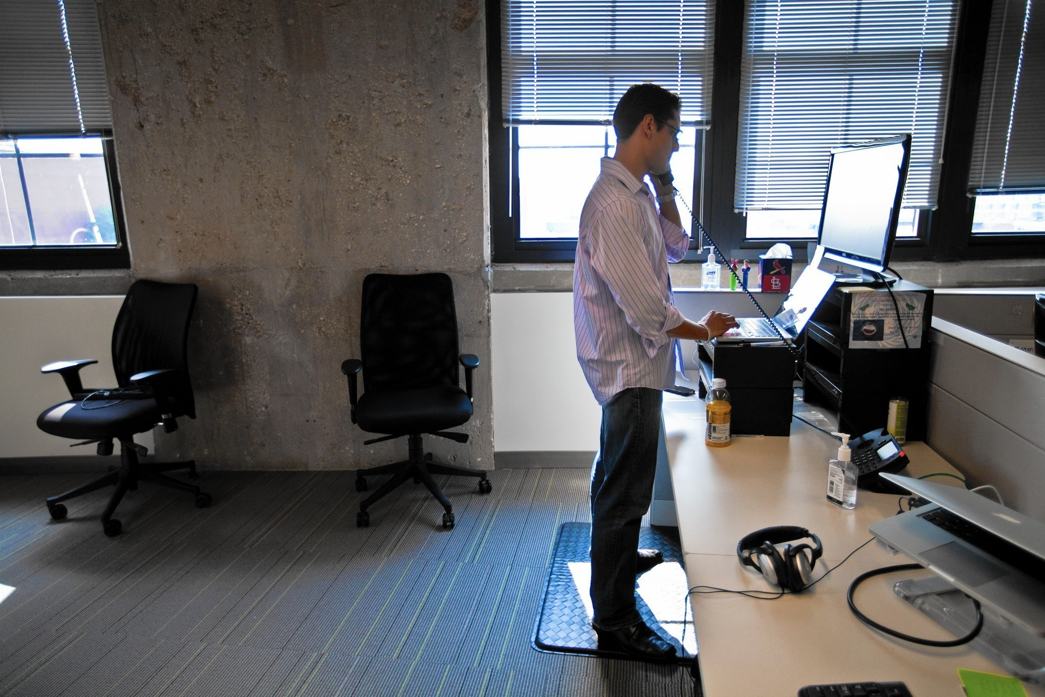 Study Shows Standing Desks Boost Productivity Chicago