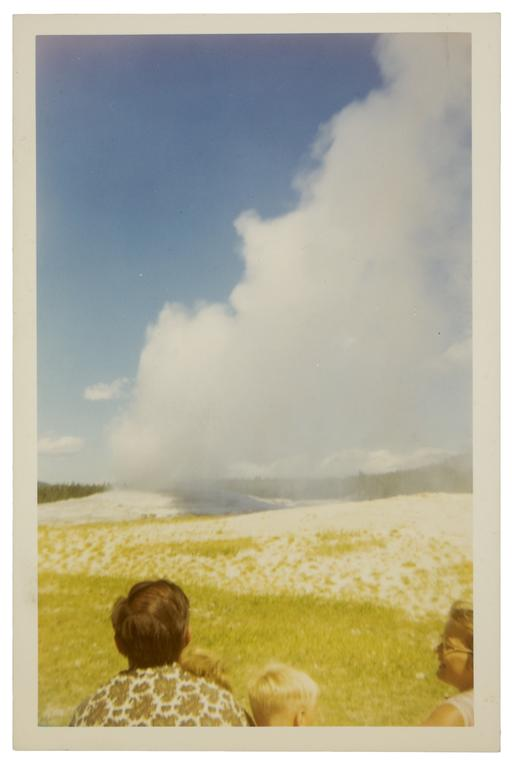 Photographer unknown, Old Faithful Geyser, Yellowstone National Park, August 1968