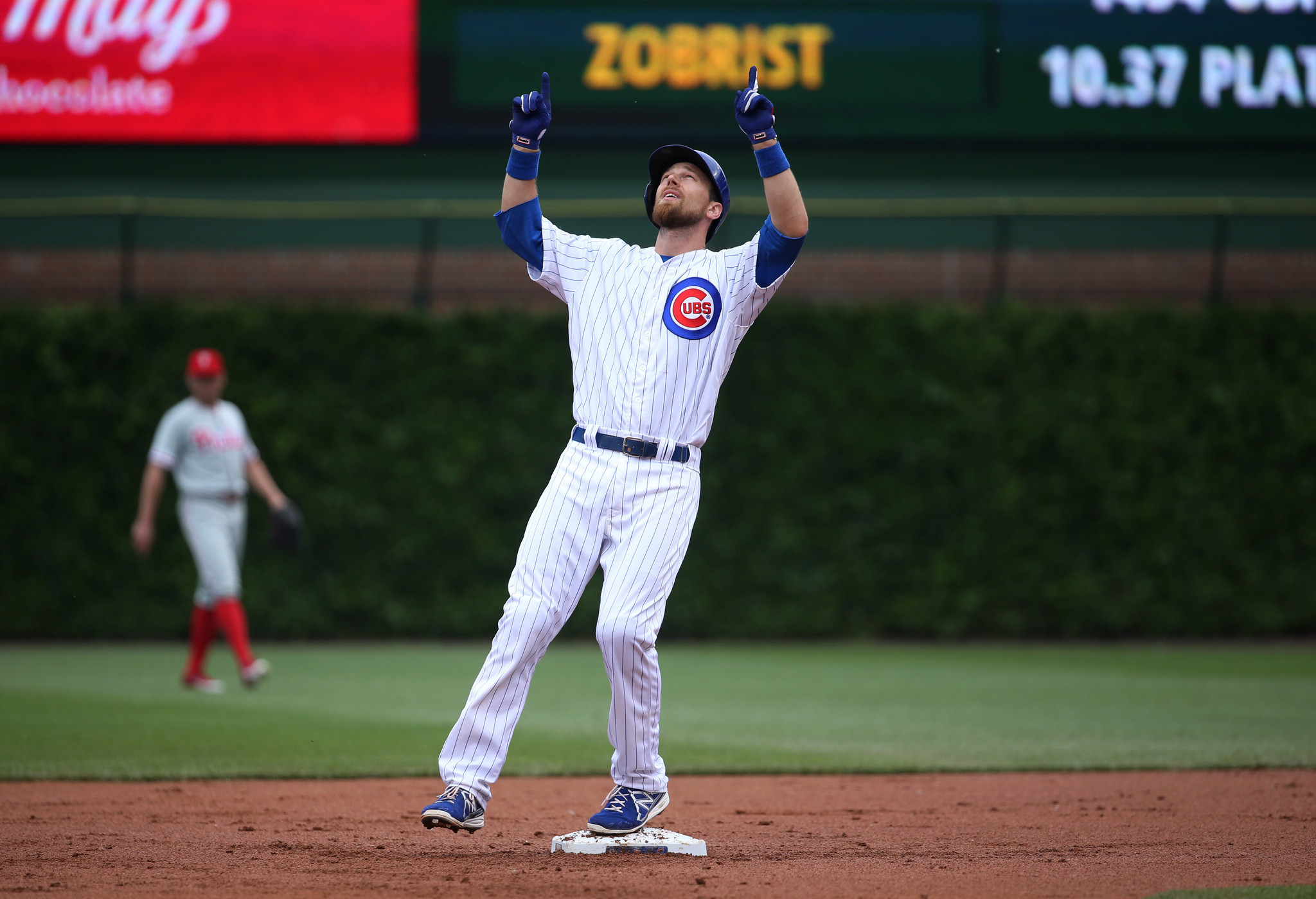 ben zobrist puttin on the hits for the cubs chicago tribune