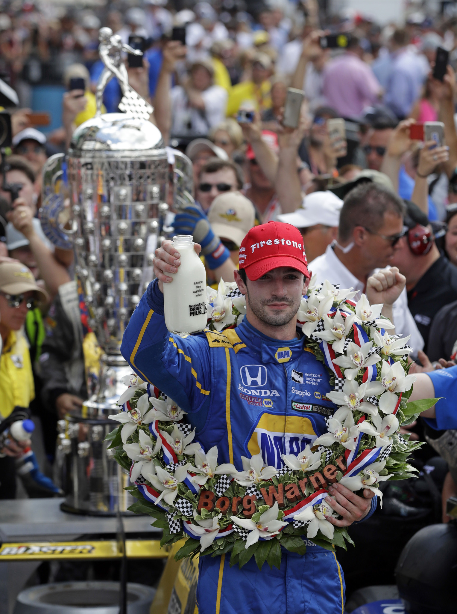 Rookie Alexander Rossi Pulls Off Stunning Upset In 100th