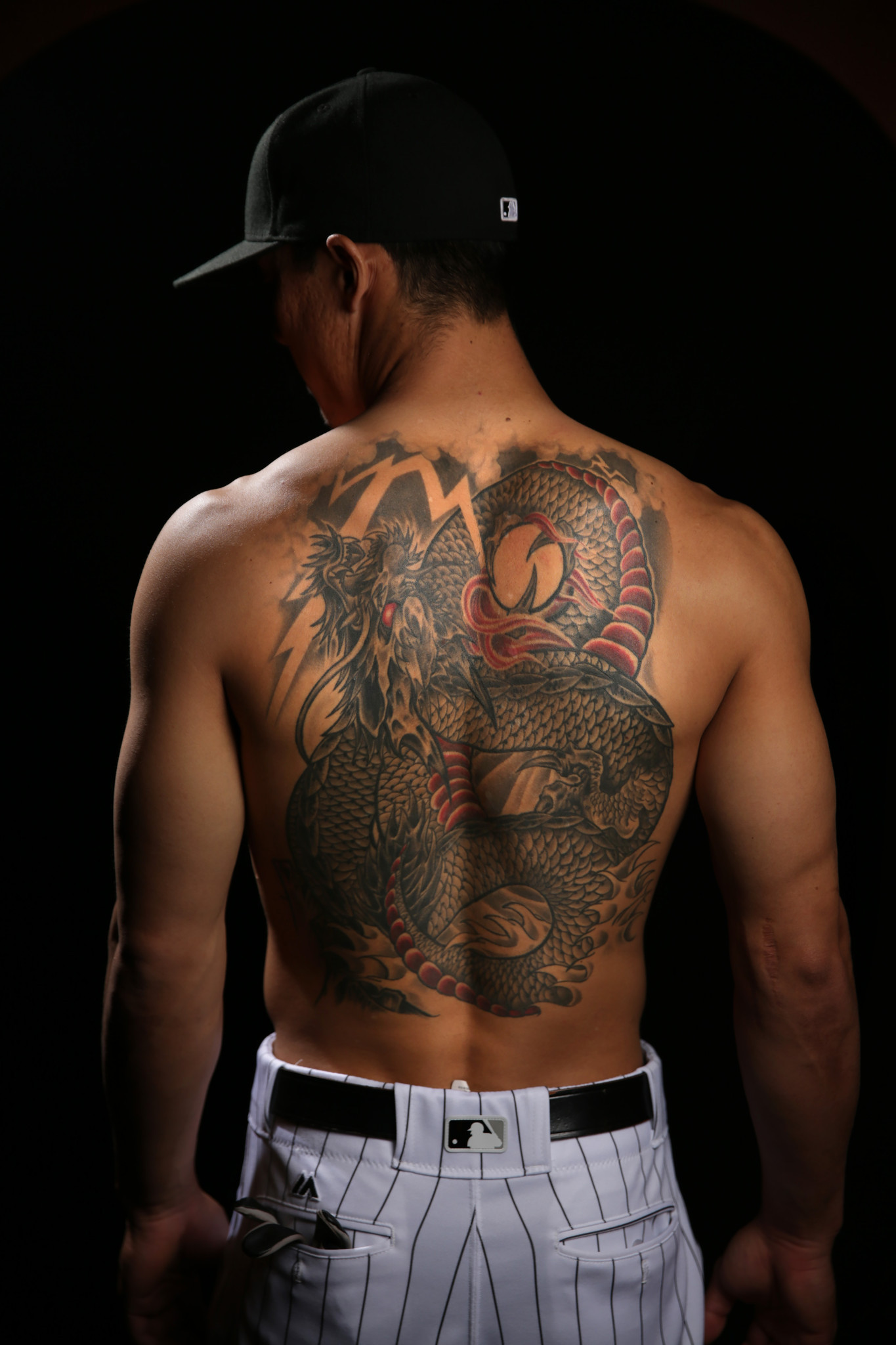 Dodge San Diego >> Pain of tattoo helped Tyler Saladino deal with pain of ...