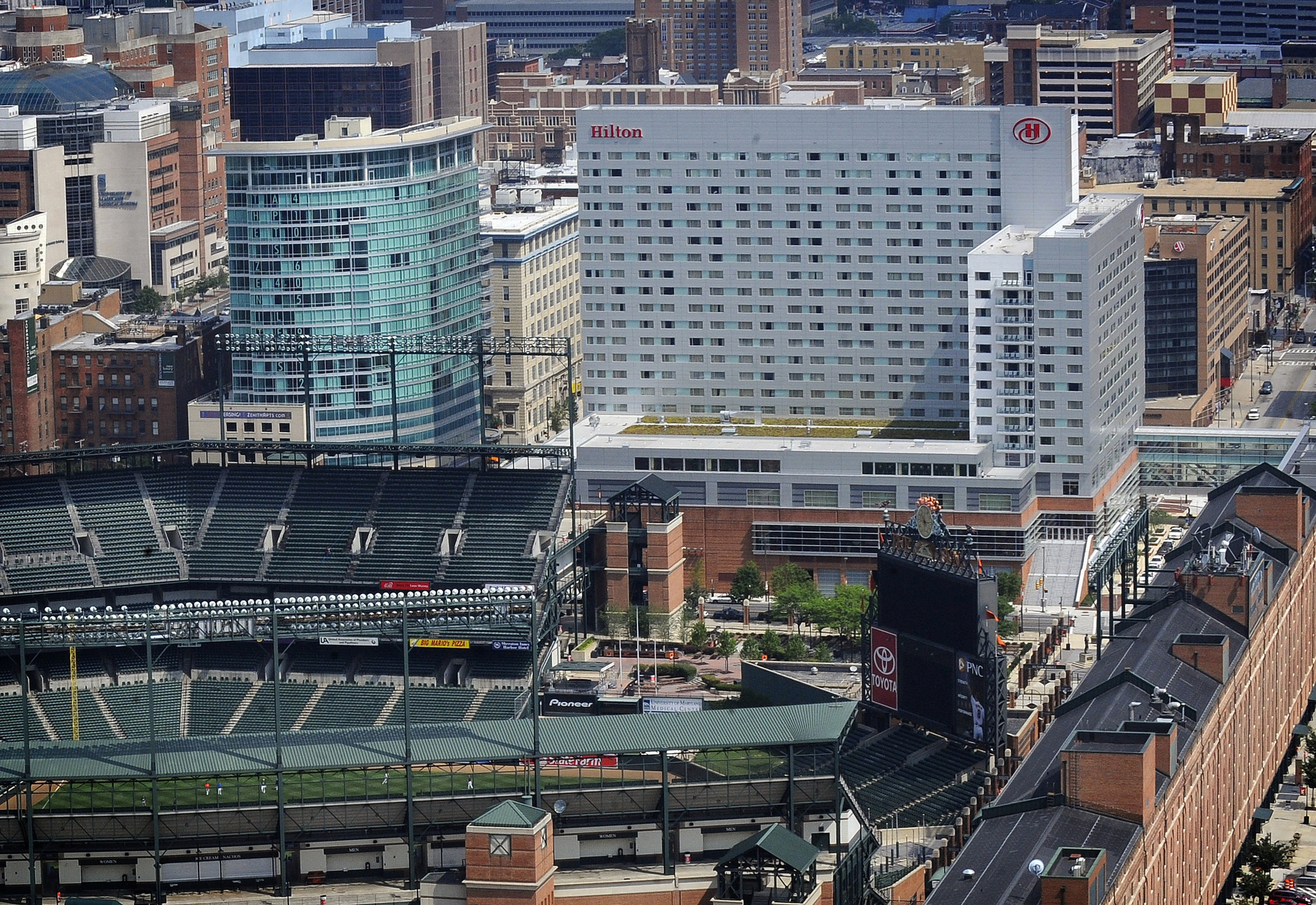 City Owned Hilton Baltimore Hotel Reports 5 2m Loss In