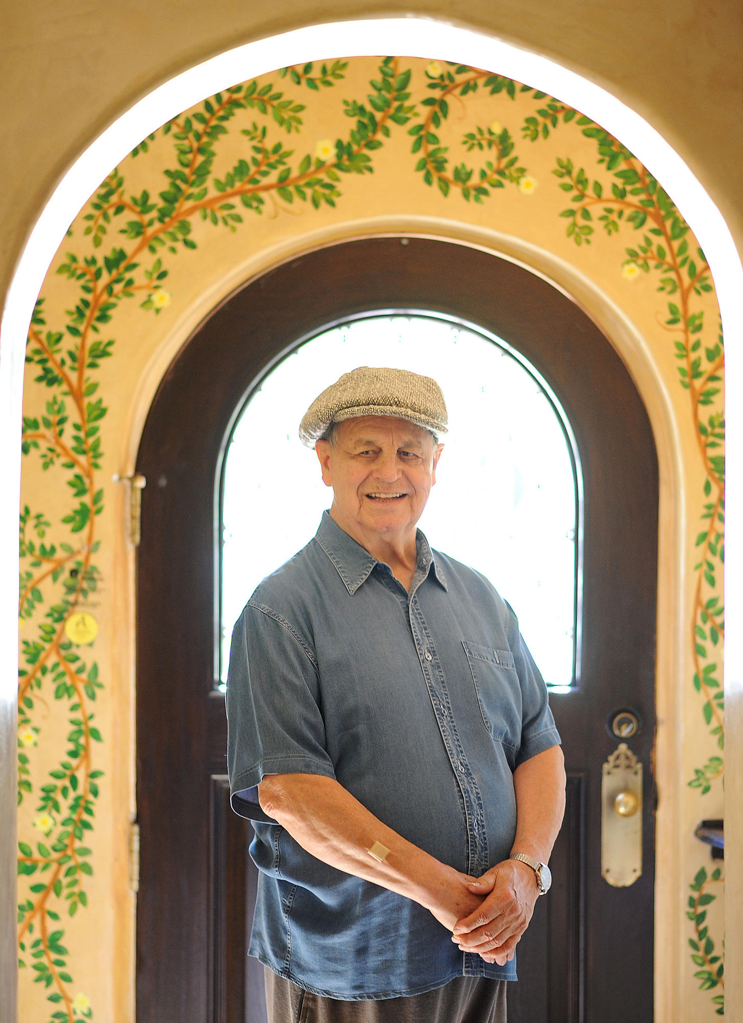 """""""Sometimes I'll be given the part of a father, and it's like a damp washcloth,"""" says Paul Dooley, pictured at home in Toluca Lake. """"'I'll wring everything I can out of it."""""""