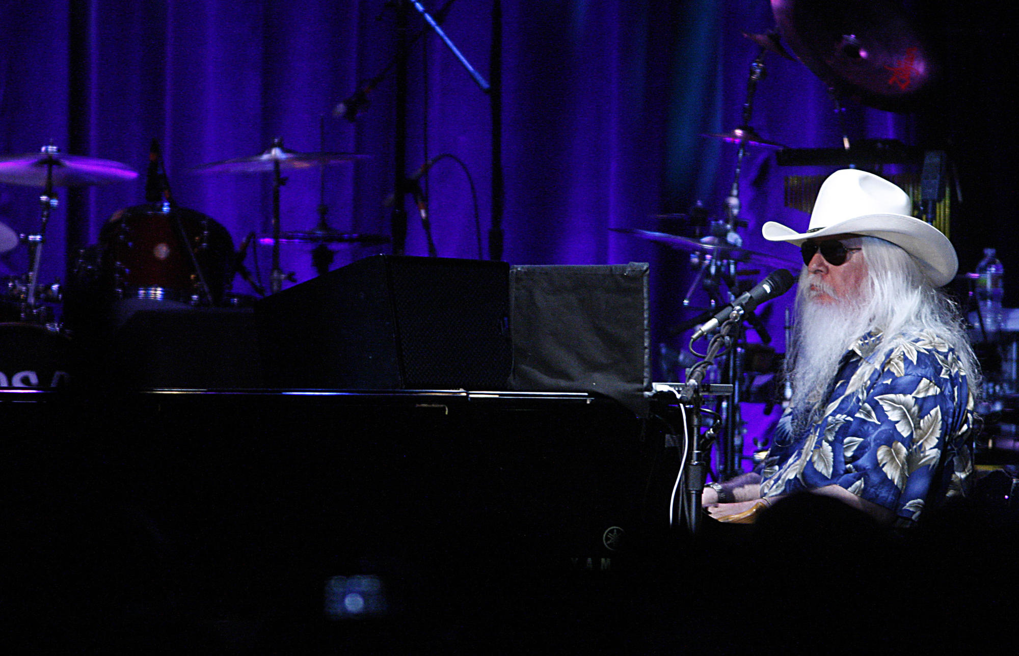 Leon Russell performs at the Palladium in Hollywood on Nov. 3, 2010.