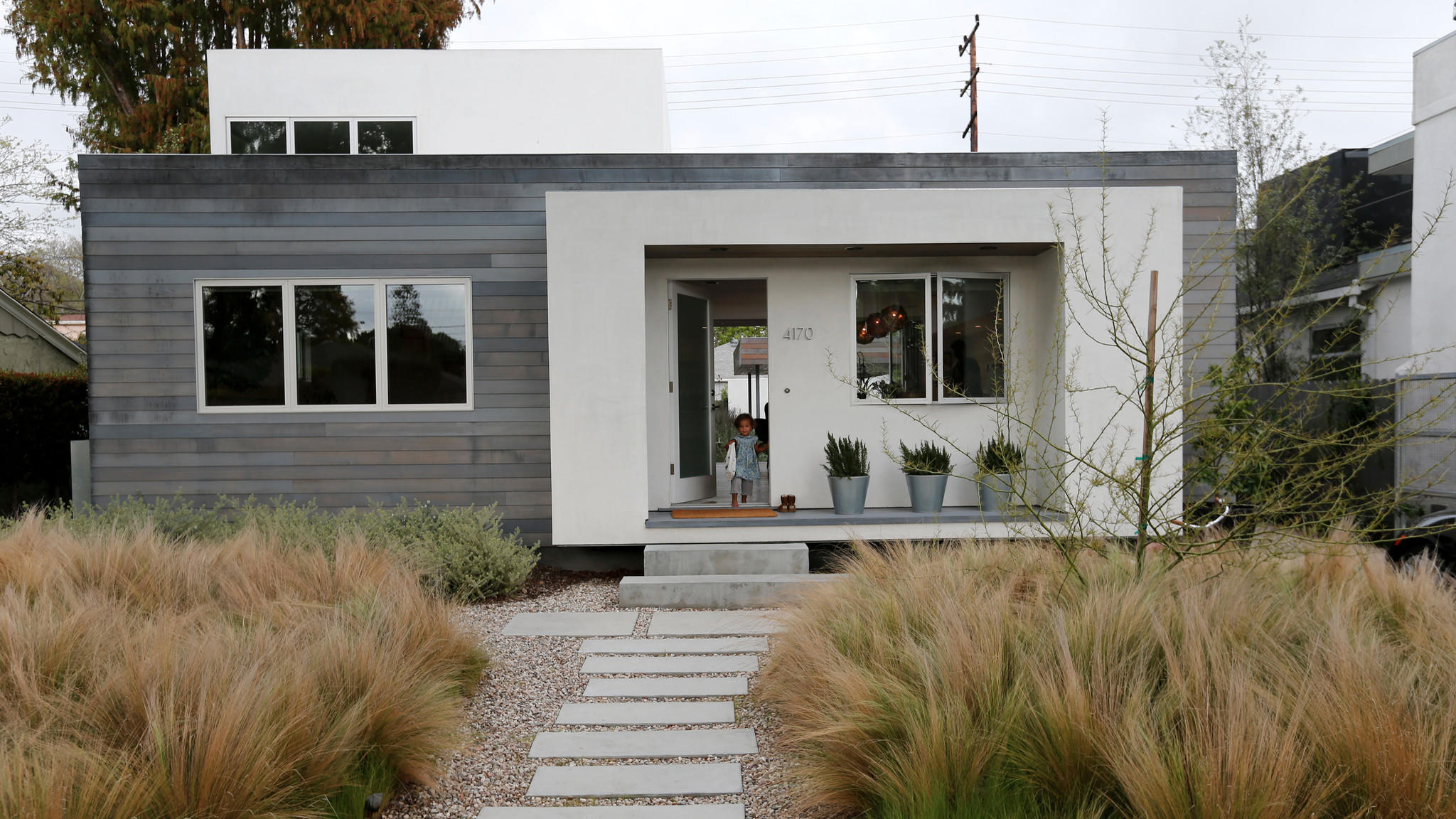 The construction of this Culver City home was a family affair.
