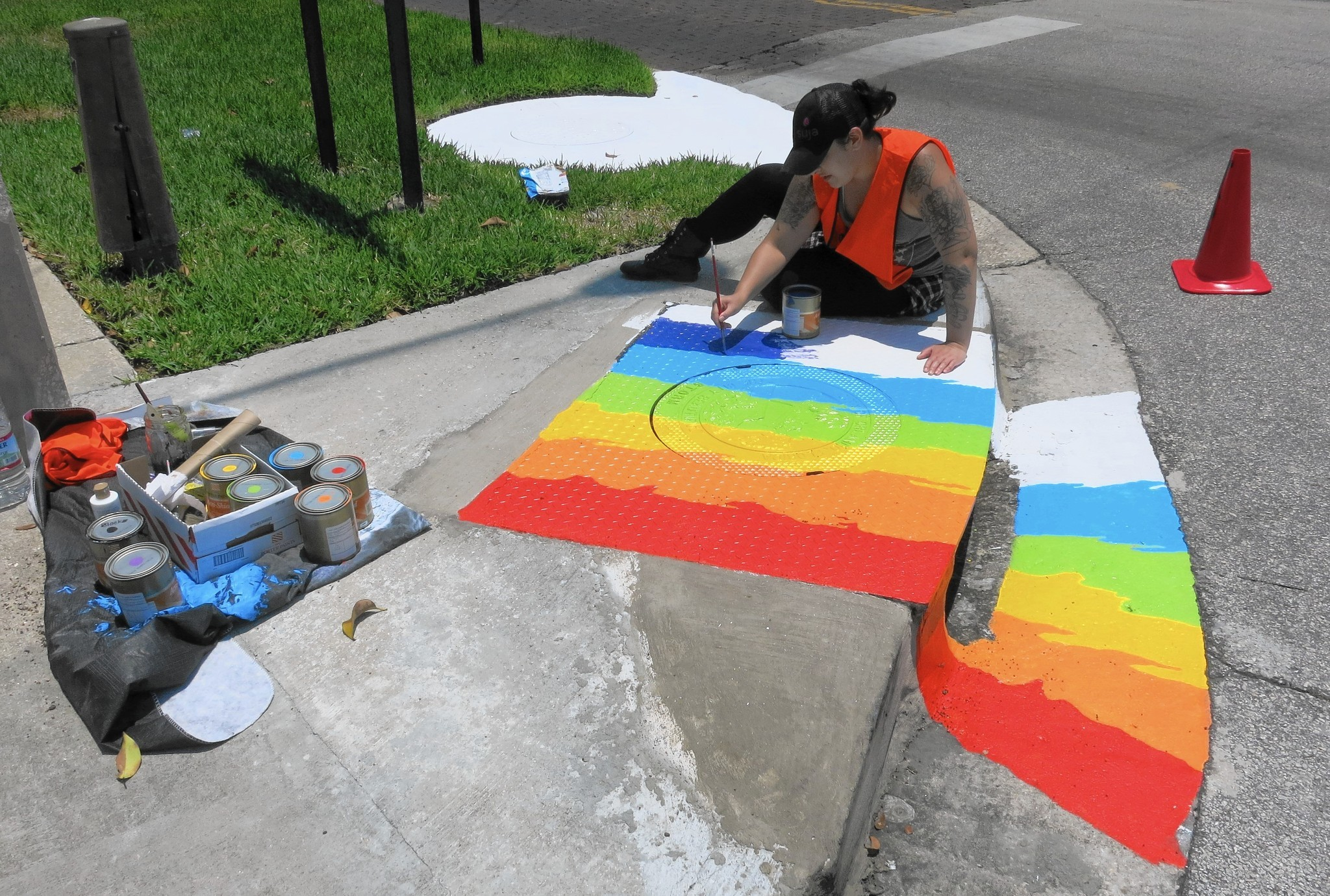 Orlando Storm Drains Go Green And Other Colors Orlando
