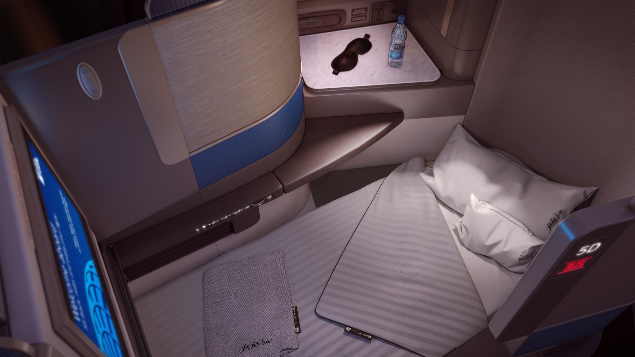 United Upgrades Business Class Amenities On Long Flights