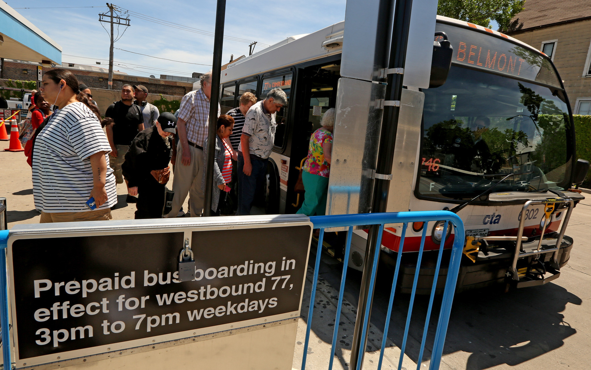 Cta To Test Prepaid Boarding On Belmont Buses Chicago