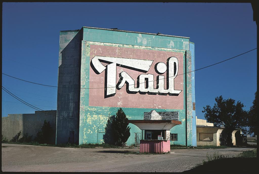 The Trail drive-in theater, Amarillo, Texas, 1982.