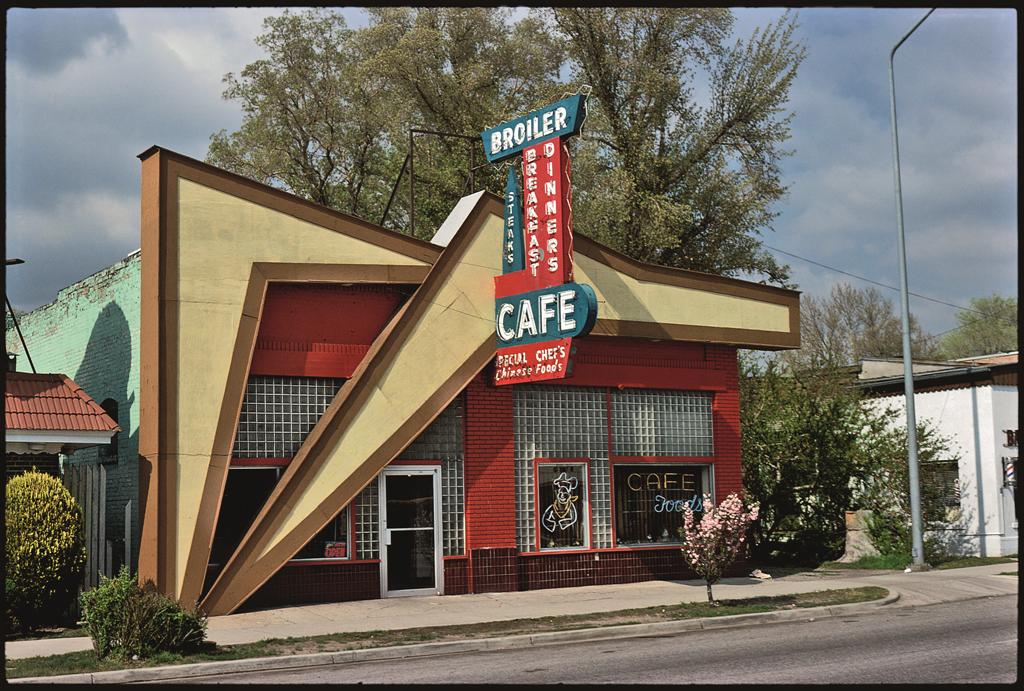 Broiler Cafe, Salt Lake City, Utah, 1980.