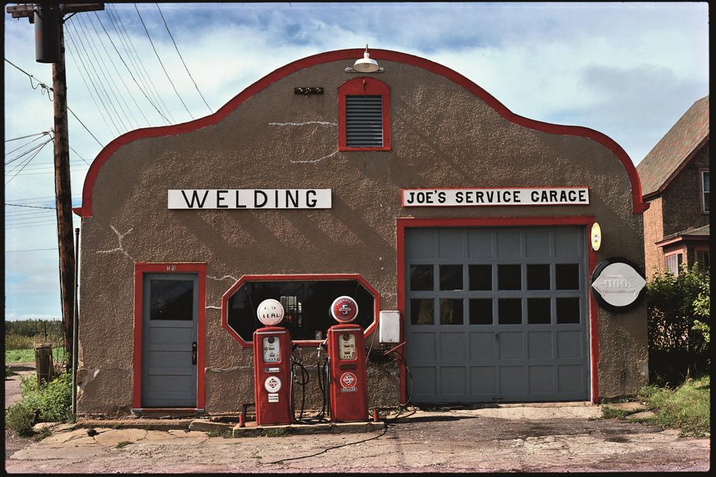 Joe's Service Garage, Nashwauk, Minn., 1980.
