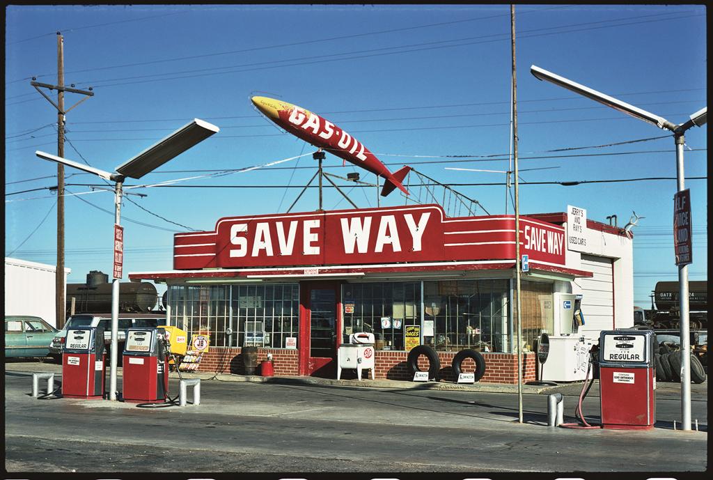 Save Way Gas, Amarillo, Texas, 1976.