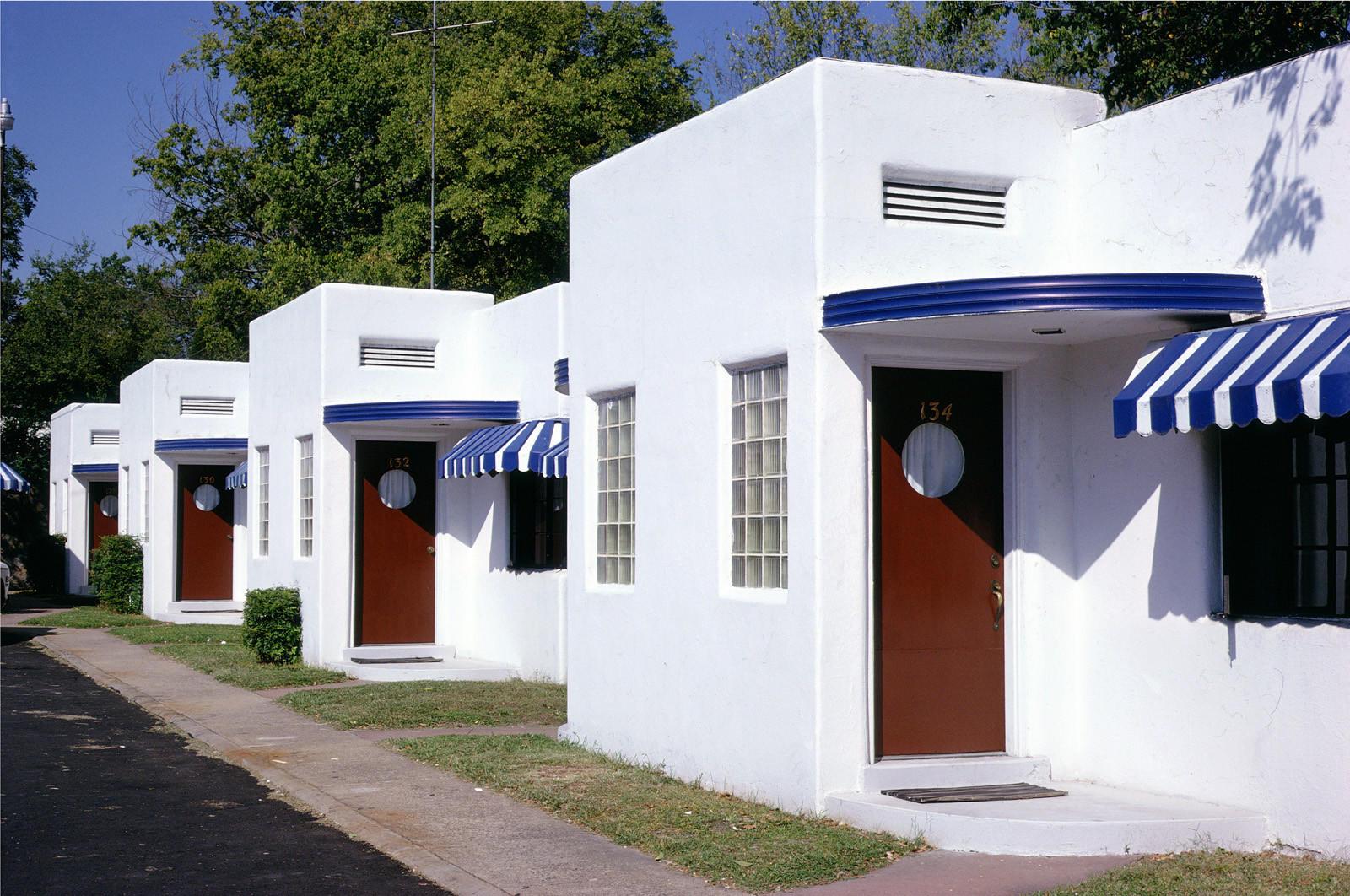 Fountain Motel, Central Avenue, Hot Springs, Ark,.