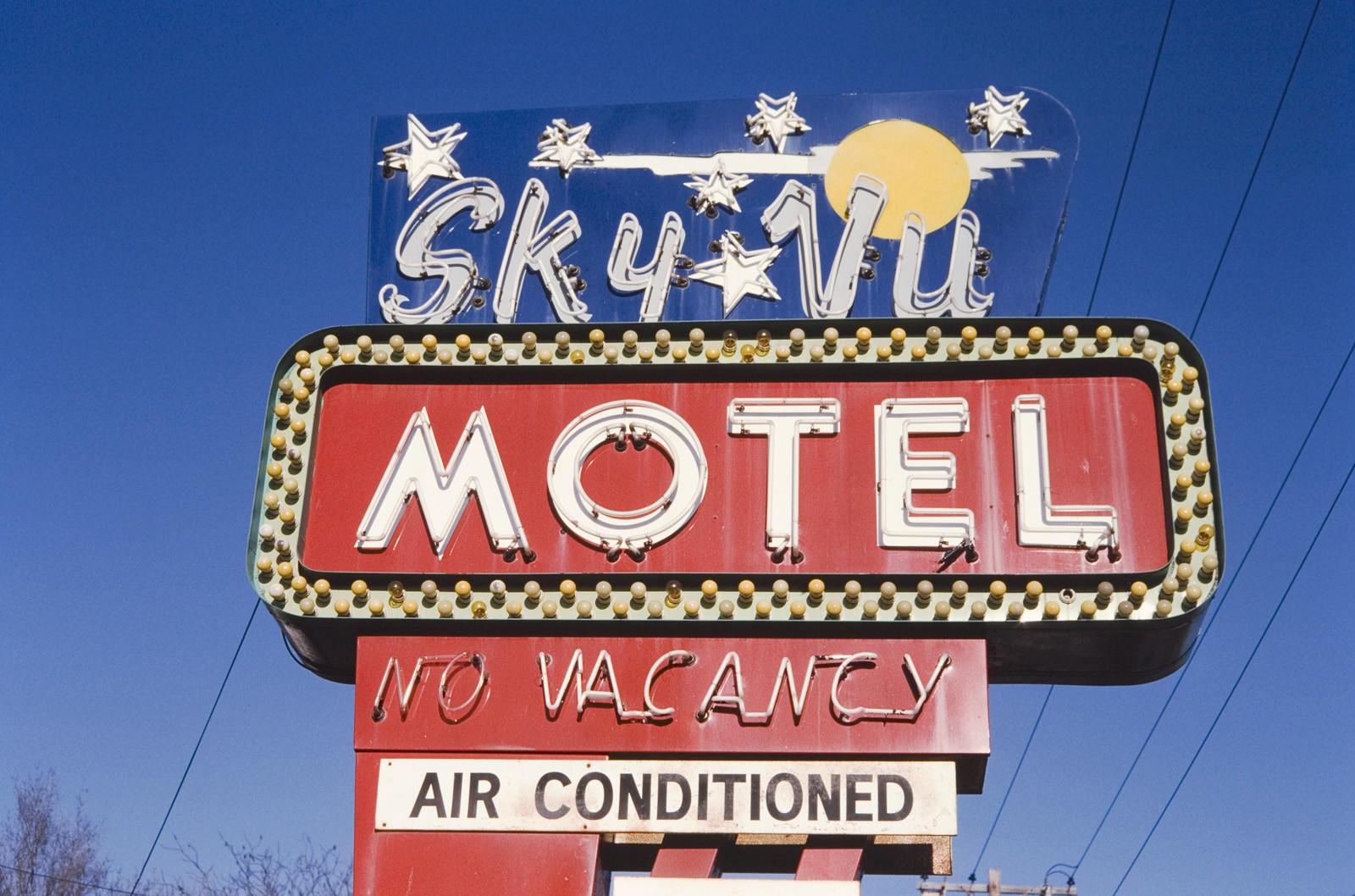 Sky Vu Motel Sign, Kansas City, Mo.