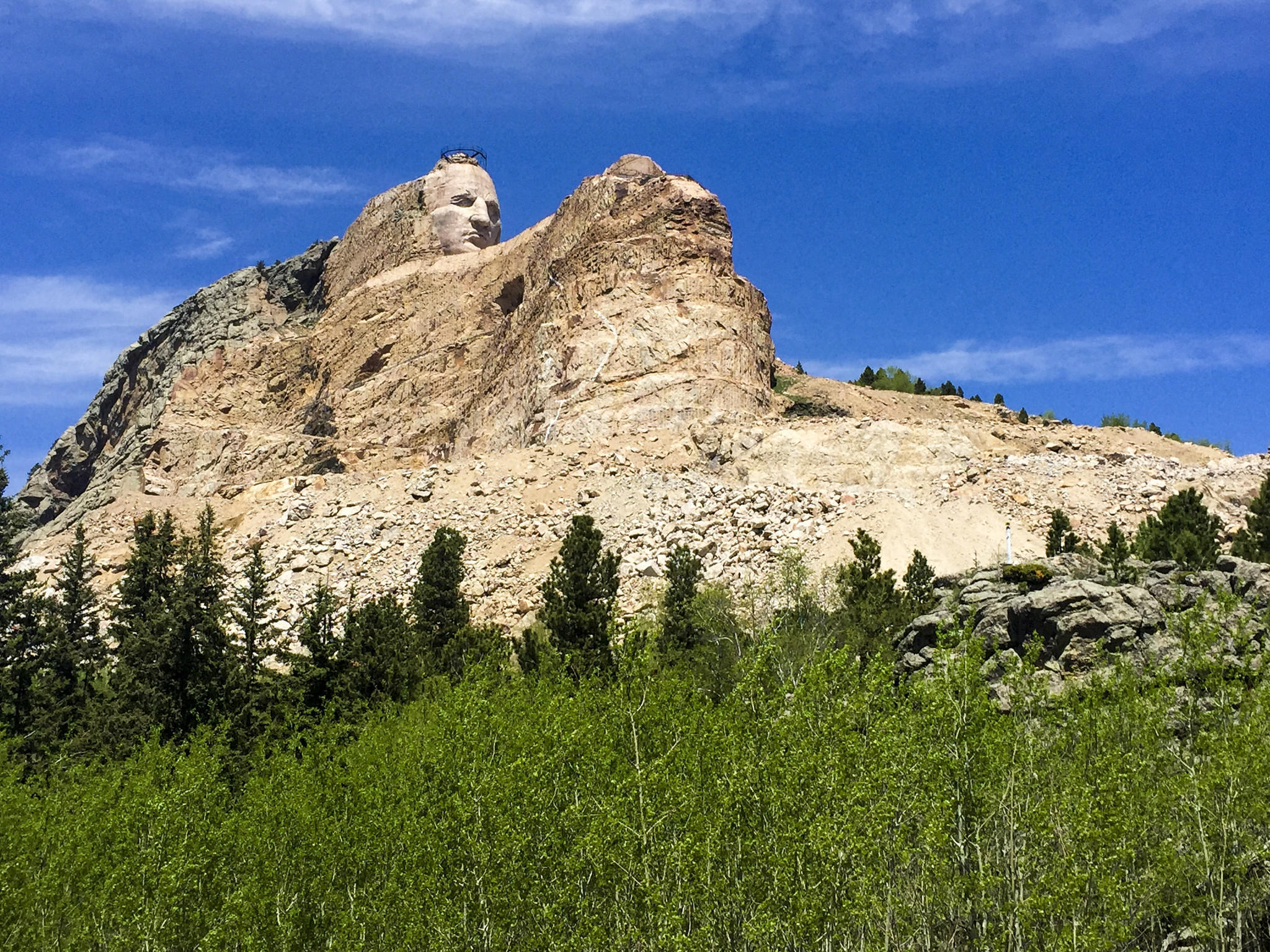 In The Black Hills, Face-to-face