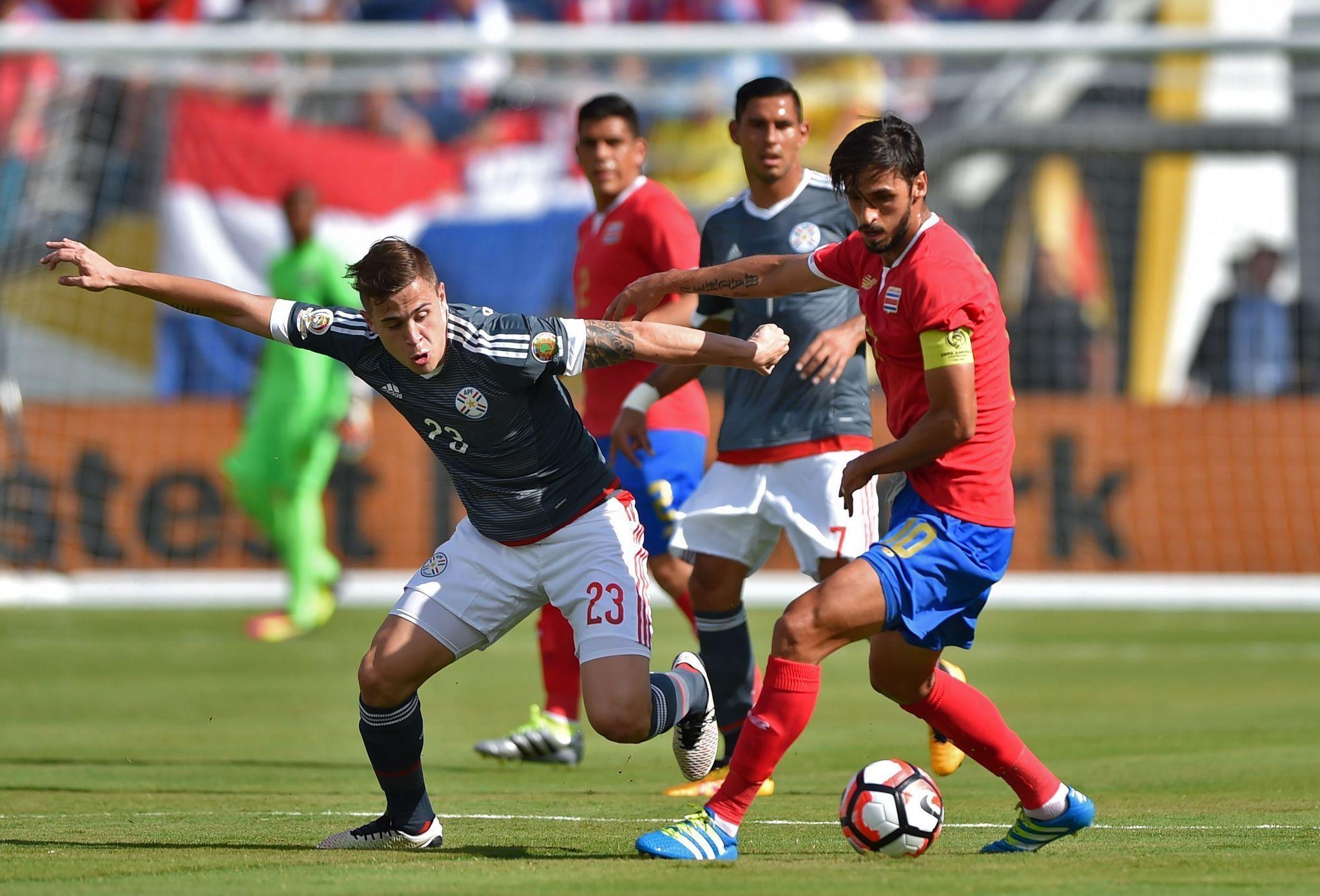 Copa Am 233 Rica Rewind Costa Rica Paraguay Draw 0 0 In